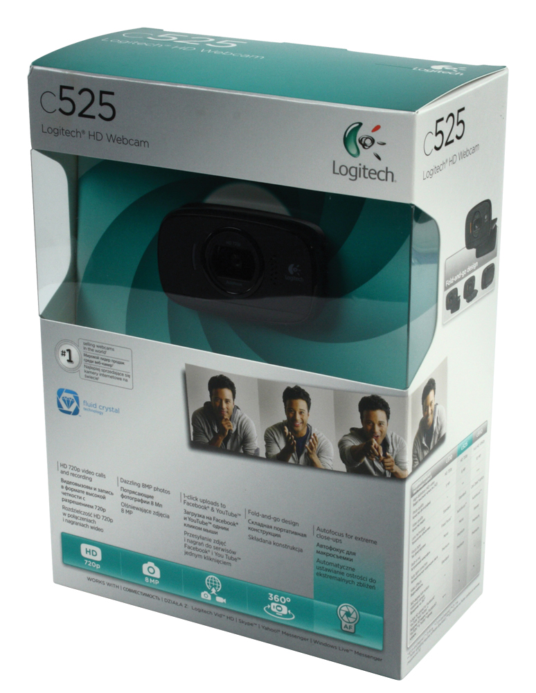 Webcam Logitech C310