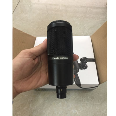 Mic thu âm cũ Audio Technica AT2020