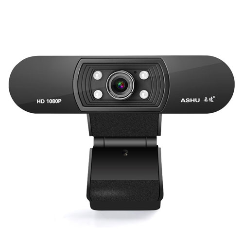 Webcam Ashu H800 Full HD 1080P