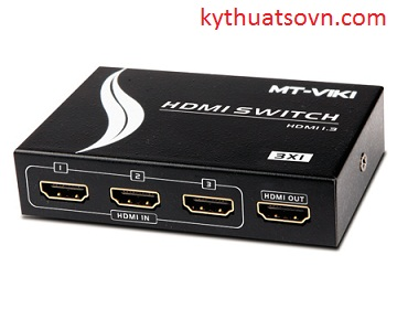 Bộ chia HDMI 3 in 1 out